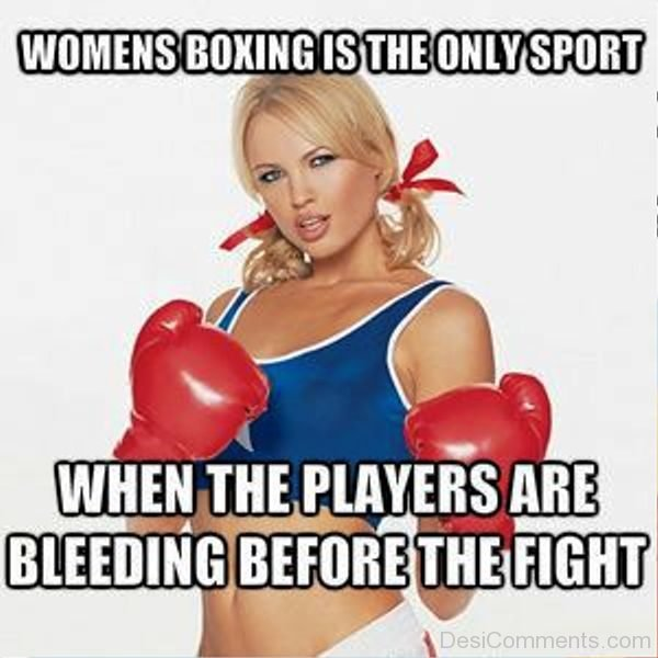 Womens Boxing Is The Only Sport