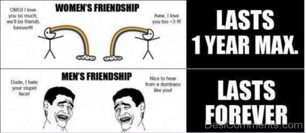 Womens Friendship Vs Mens Friendship