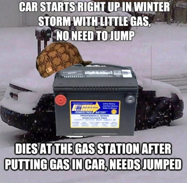 Car Starts Right Up In Winter