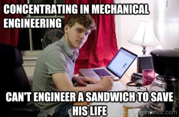 Concentrating In Mechanical Engineering