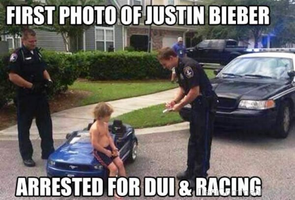 First Photo Of Justin Bieber