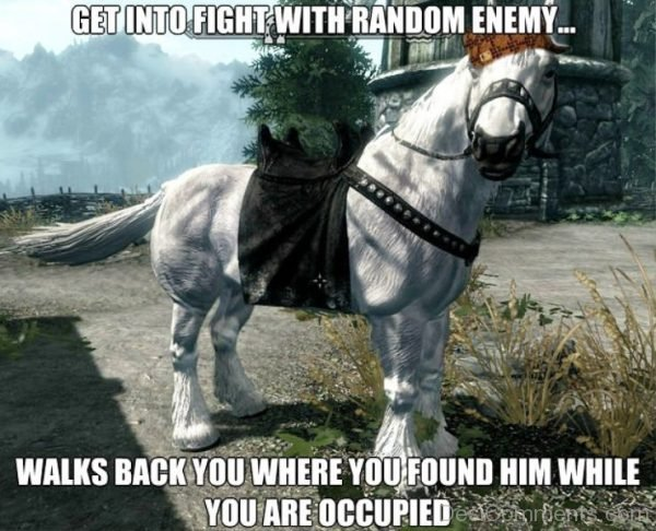 Get Into Fight With Random Enemy