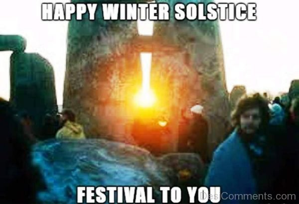 Happy Winter Solstice Festival To You