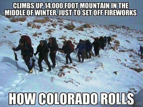 How Colorado Rolls
