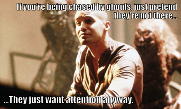 If You re Being Chased By Ghouls