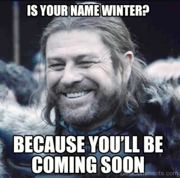 Is Your Name Winter