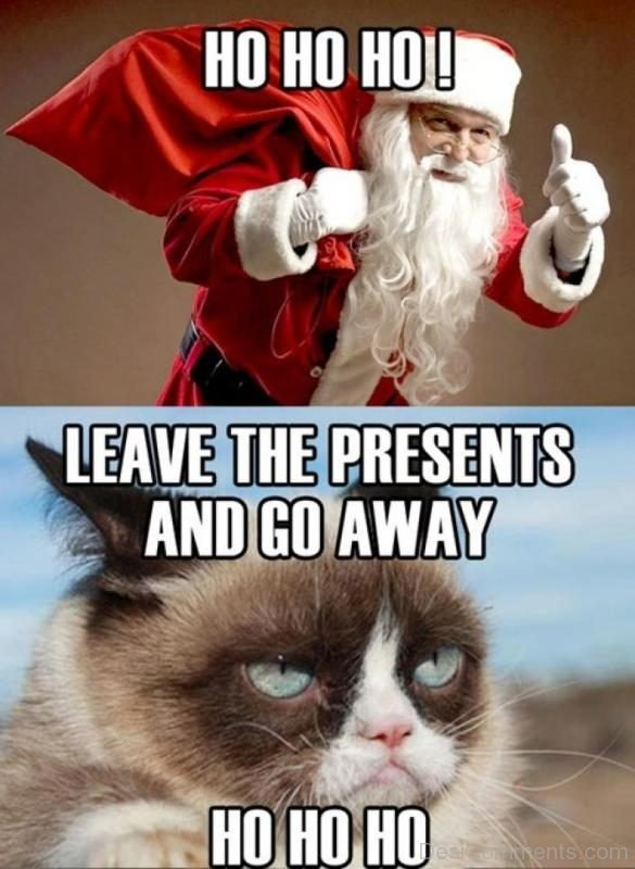Leave The Presents And Go Away