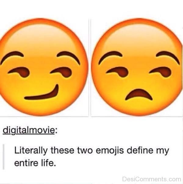 Literally These Two Emojis