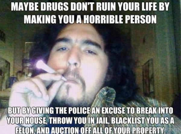 Maybe Drugs Dont Ruin Your Life