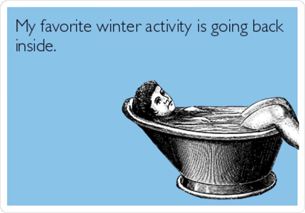 My Favorite Winter Activity