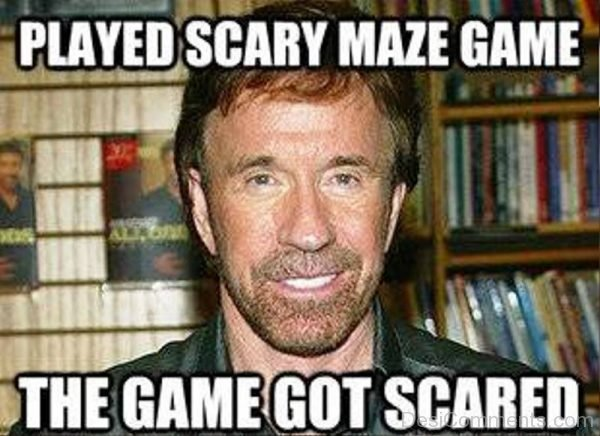 Played Scary Maze Game