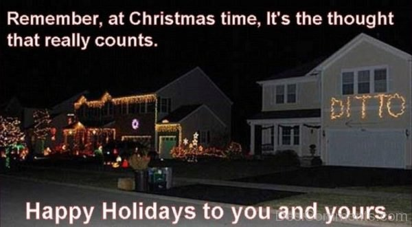 Remembr At Christmas Time