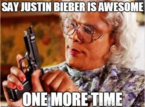 Say Justin Bieber Is Awesome