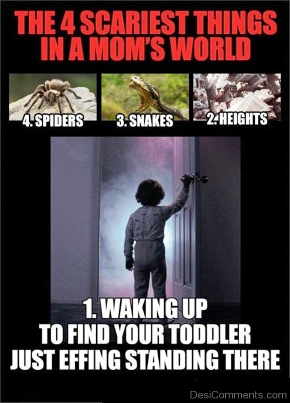 The 4 Scariest Things In A Moms World