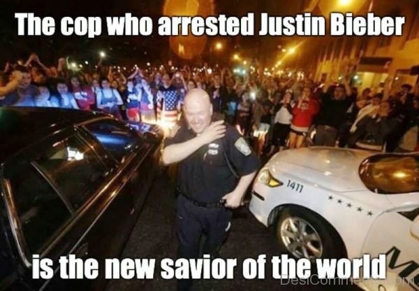 The Cop Who Arrested Justin Bieber