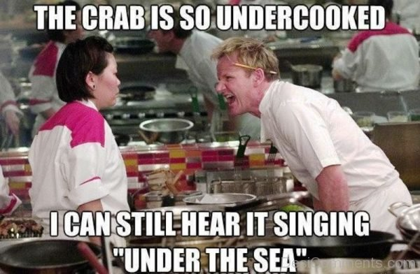 The Crab Is So Undercooked