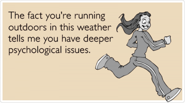 The Fact You re Running Outdoors