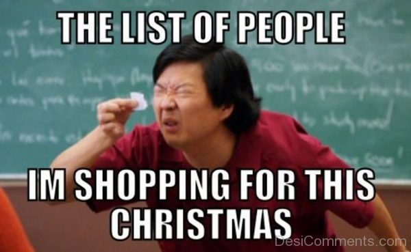The List Of People