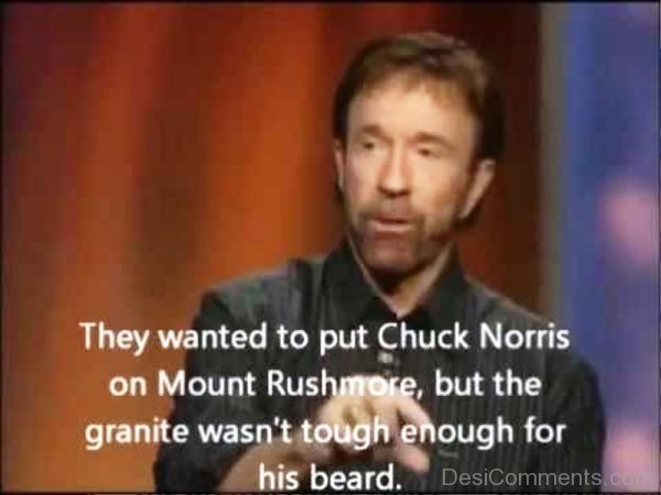 They Wanted To Put Chuck Norris