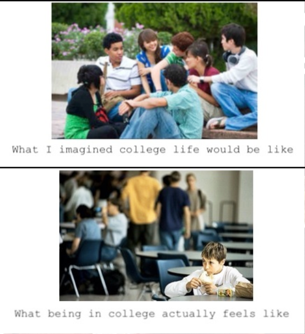 What I Imagined College Life