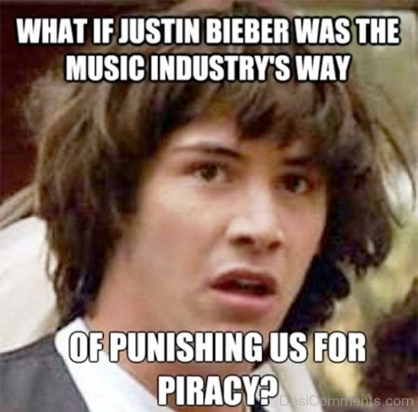 What If Justin Biebr Was The Music Industry