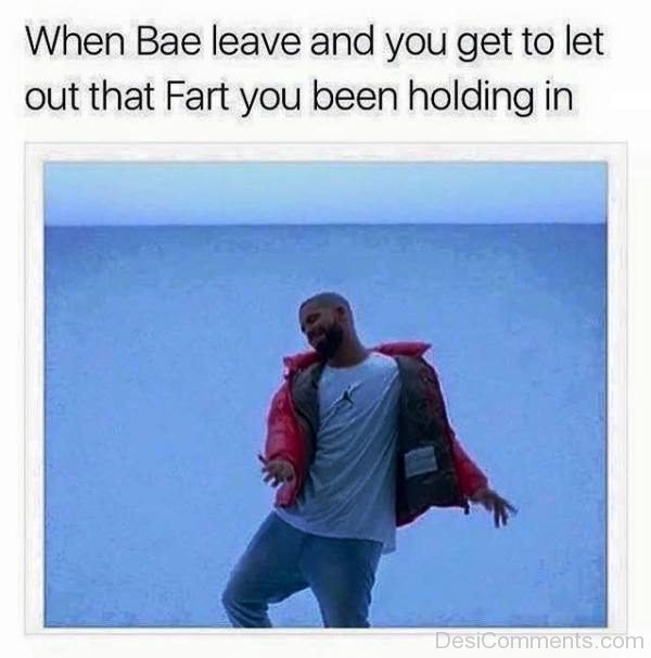When Bae Leave And You Get