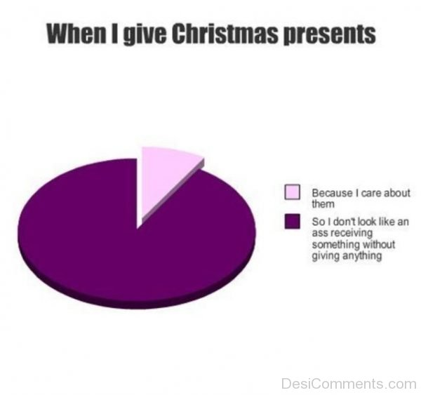 When I Give Christmas Presents