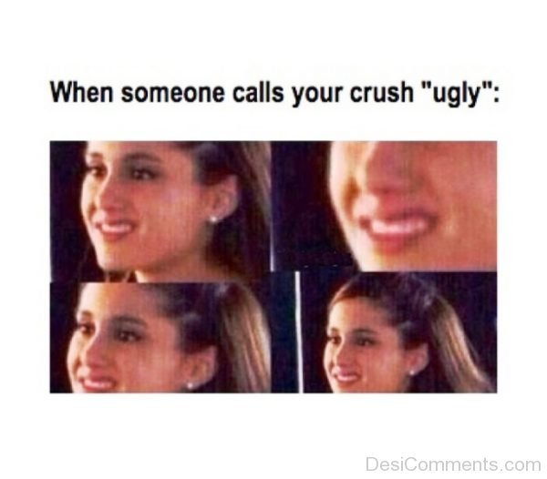 When Someone Calls Your Crush Ugly