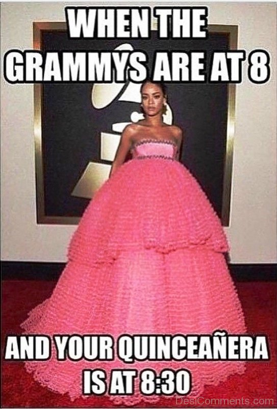 When The Grammys Are At 8