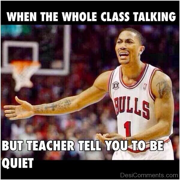 When The Whole Class Talking