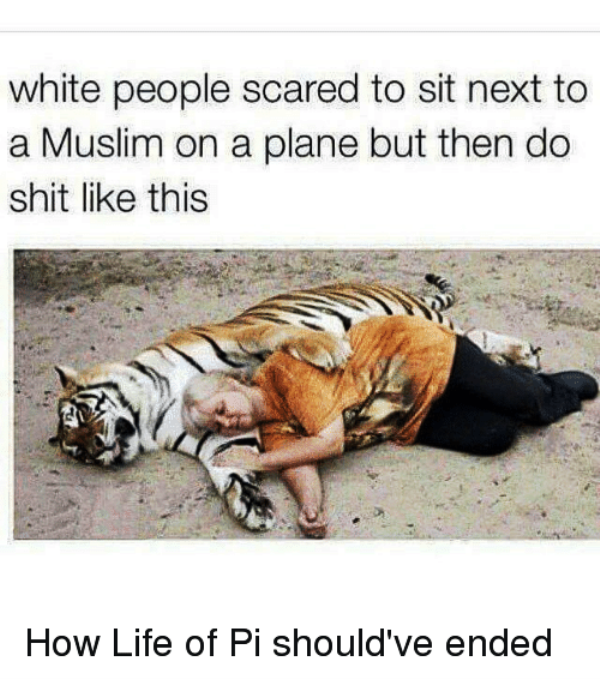 White People Scared To Sit Next