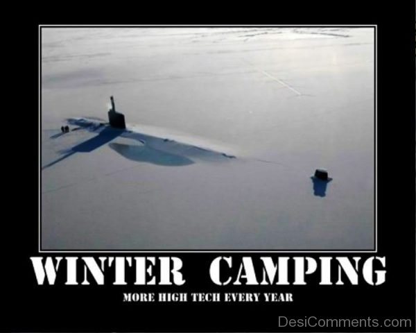Winter Camping More High Tech Every Year