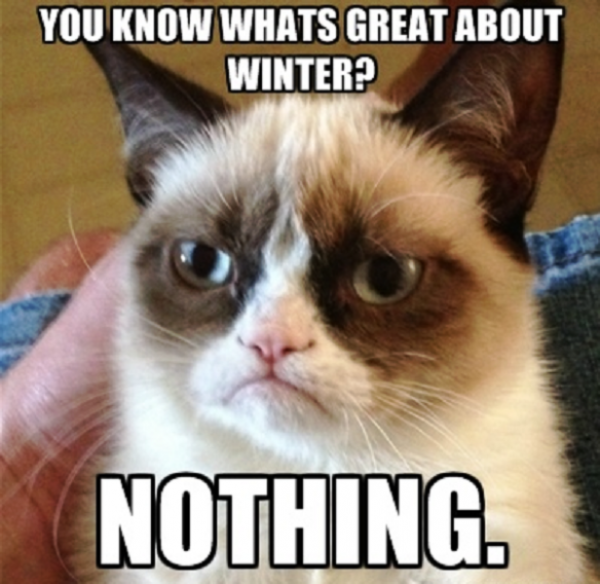 You Know Whats Great About Winter