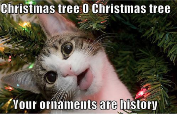 Your Ornaments Are History