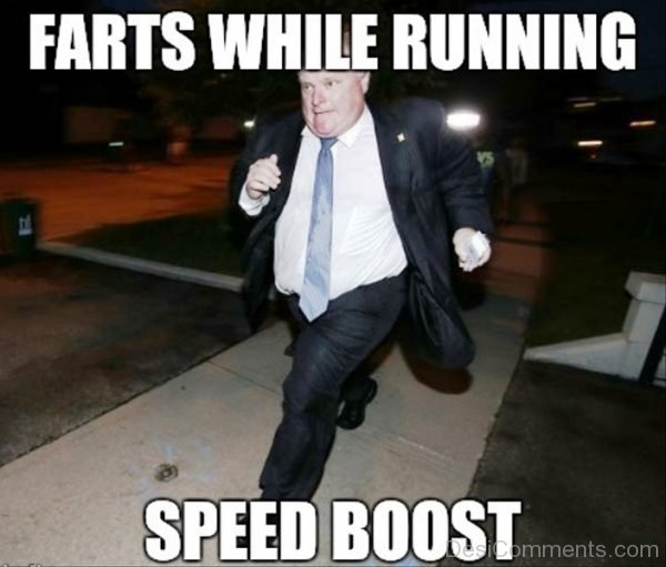 Farts While Running