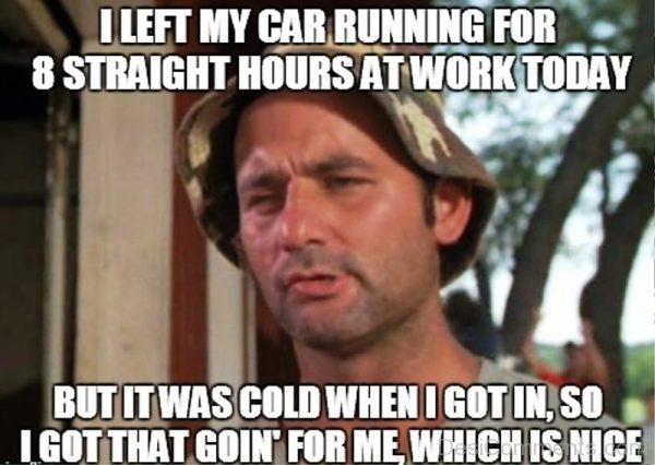 I Left My Car Running