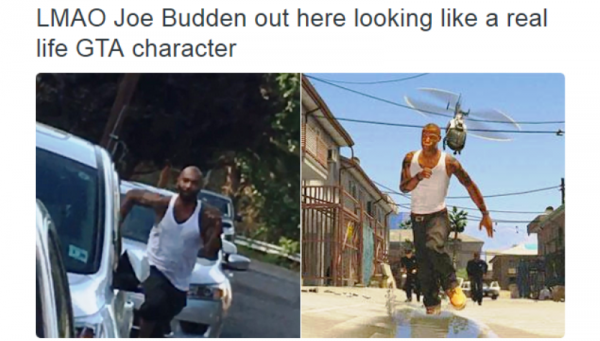 LMAO Joe Budden Out Here Looking