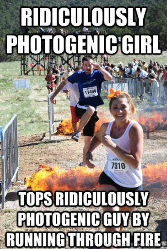 Ridiculously Photogenic Girl