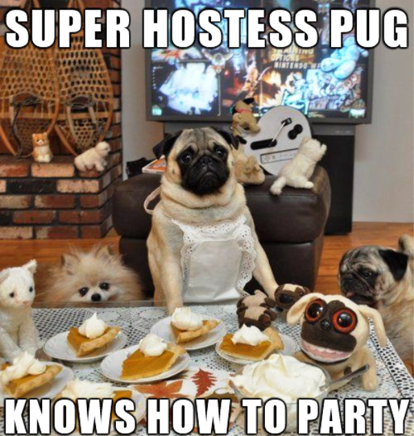 Super Hostess Pug
