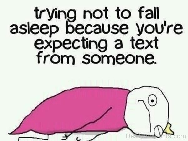 Trying Not To Fall Asleep