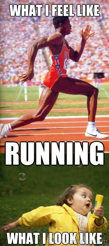 What Feel Like Running
