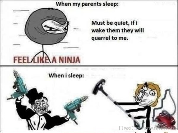 When My Parents Sleep