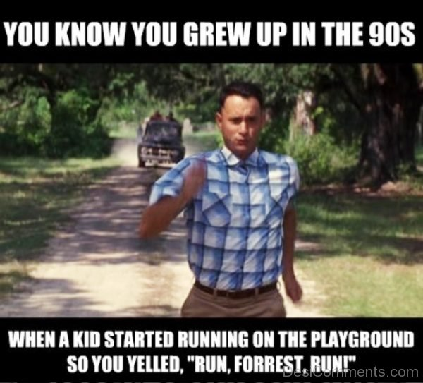 You Know You Grew Up In The 90S