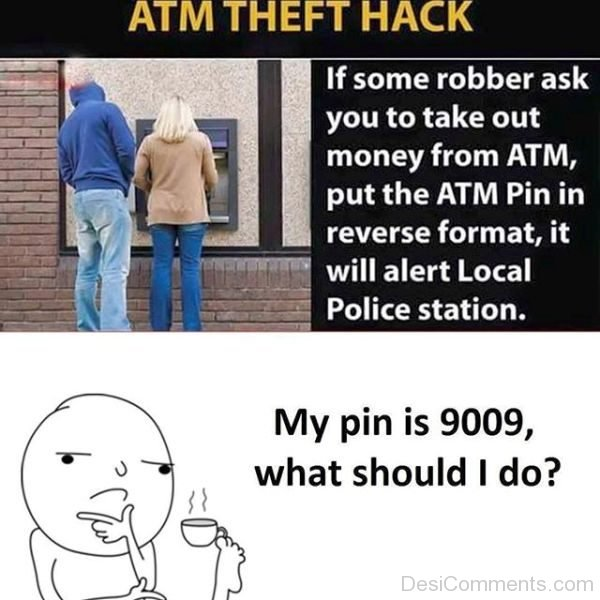 ATM Theft Hack