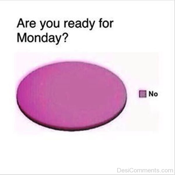 Are You Ready For Monday