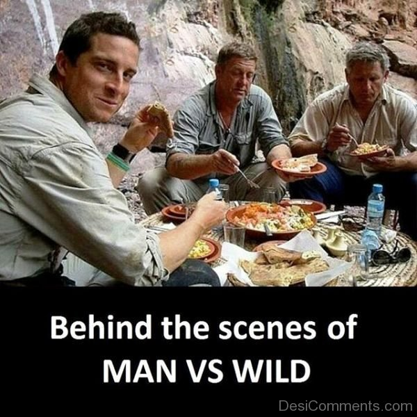 Behind The Scenes Of Man Vs Wild