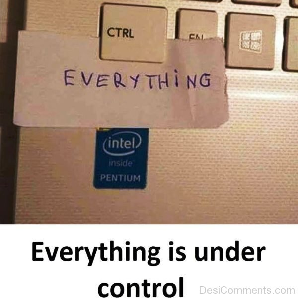 Everything Is Under Control