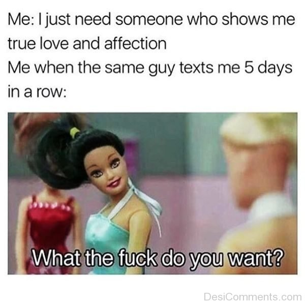 I Just Need Someone Who Shows Me