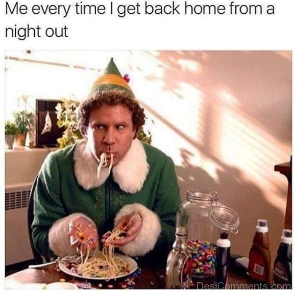 Me Everytime I Get Back Home