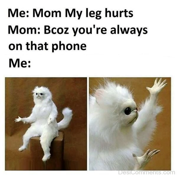 Mom My Leg Hurts